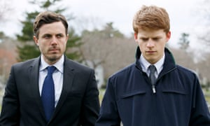 Devastatingly good … Casey Affleck and Lucas Hedges in Manchester By the Sea.