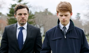 Casey Affleck and Lucas Hedges in Manchester By The Sea.