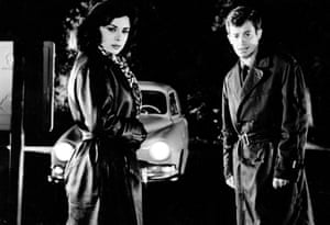 Jean-Paul Belmondo and Sandra Milo in Classe Tous Risques, 1960