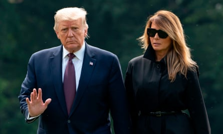 US president Donald Trump and First Lady Melania Trump contracted coronavirus after aide Hope Hicks fell ill.