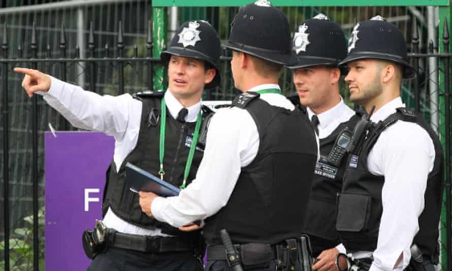 Police at Wimbledon