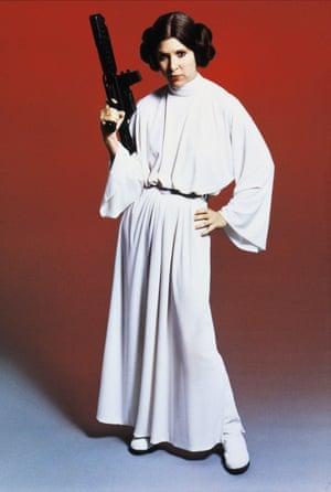 Princess Leia's white robes