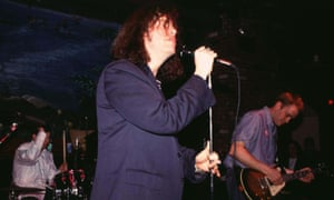 Tearing at the fabric of their hyper-sensitive songs … Miracle Legion onstage in 1992.