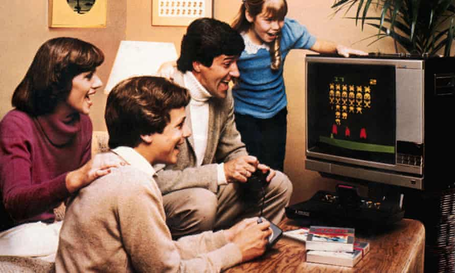 A games console can bring the whole family together for a few hours at Christmas.