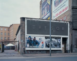 Outside Tresor, From the series Temporary Spaces, 1996