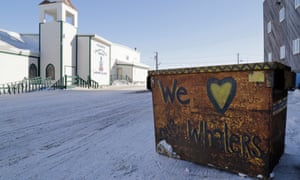 A photo from Barrow, Alaska. By Oliver Milman for the Guardian. 2018