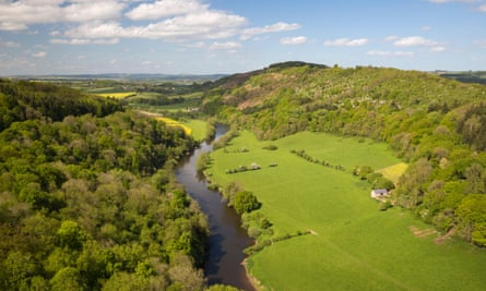 Eat your heart out, Dordogne … the Wye Valley from Symonds Yat