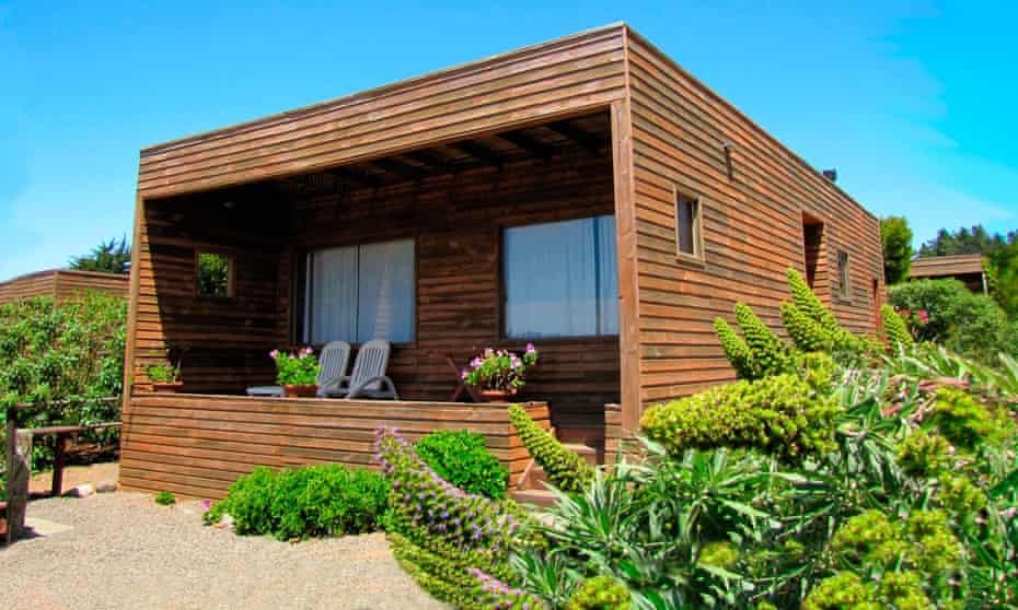 Cabanas Cantomar, Punta de Lobos, Chile.