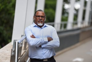 Adrian Burragubba, spokesperson for the Wangan and Jagalingou Traditional Owners' Council