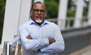 Adrian Burragubba, spokesperson for the Wangan and Jagalingou traditional owners council