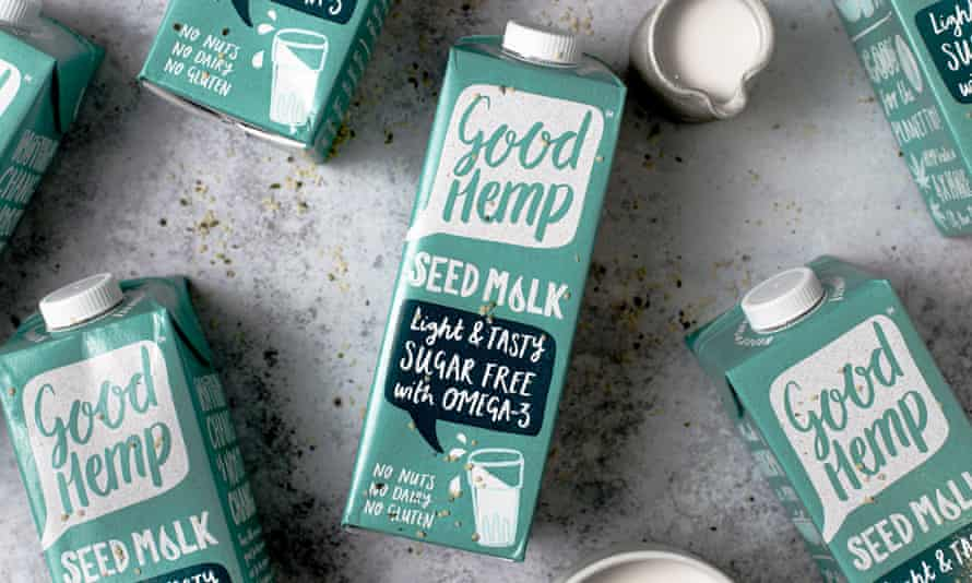 Hemp seed milk from Good Hemp, the UK's first and biggest producer
