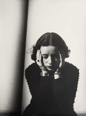 Portrait of Lore Krüger by Florence Henri (1937)