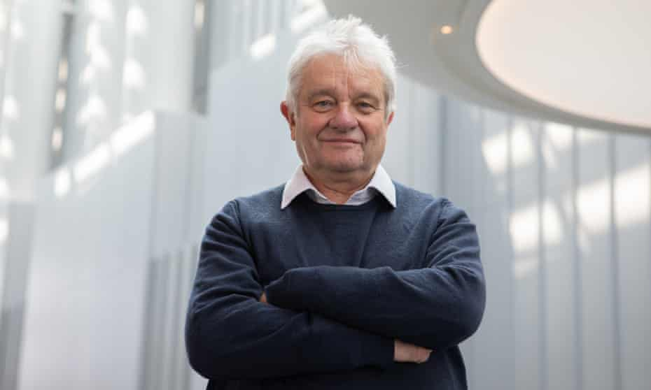 Paul Nurse photographed at the Francis Crick Institute, of which he is director, in London this month.