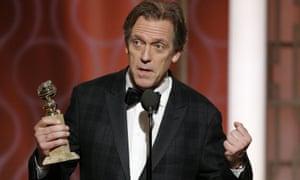 Hugh Laurie's acceptance speech
