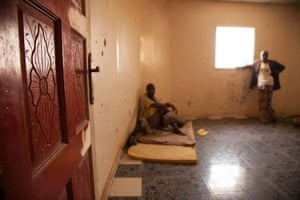 A patient in a mental health ward in Somaliland