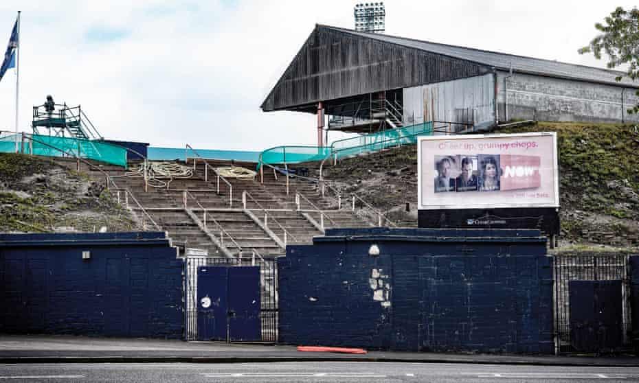Dundee's ground, Dens Park.