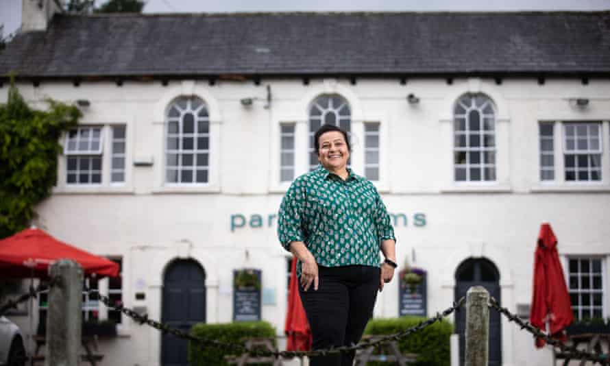 Stosie Madi at the Parkers Arms pub