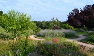Gardens at Beckenham Place Park summer 2019