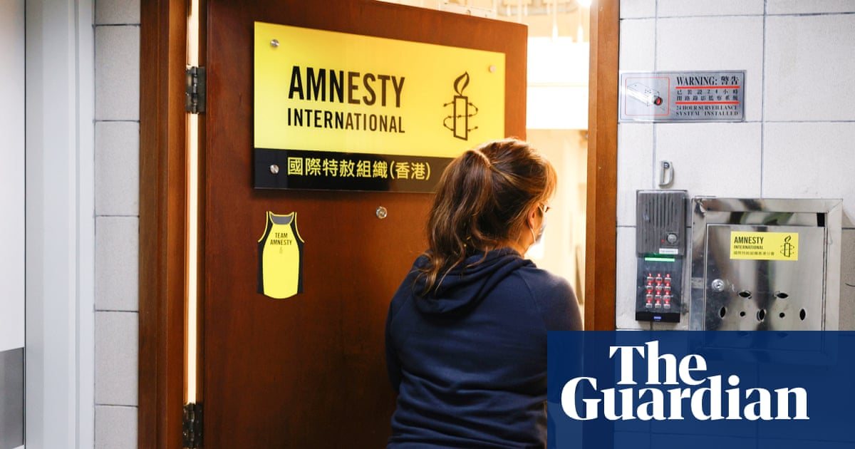 Amnesty International to close Hong Kong offices due to national security law