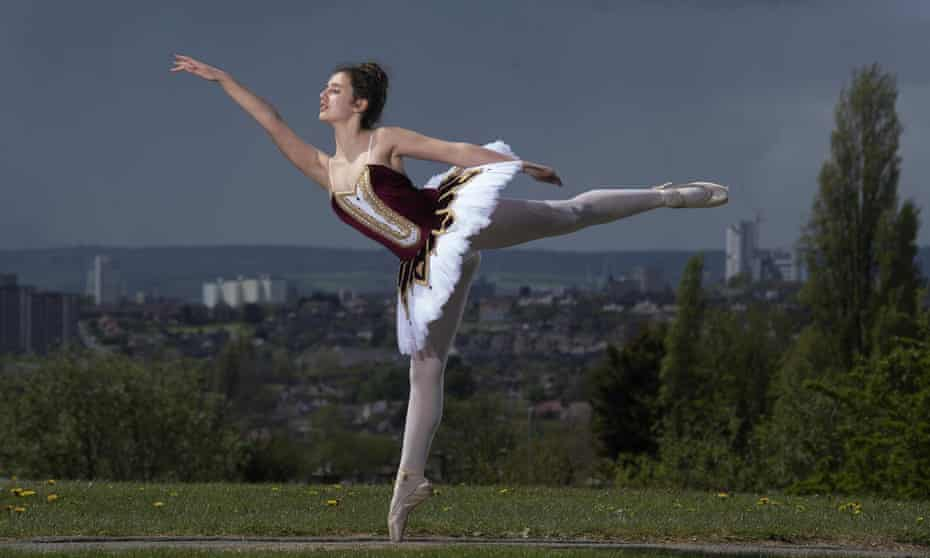 Constance Bailey has performed ballet since she was two years old.