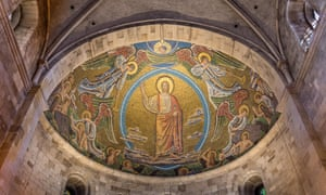 Mosaic in the apse of Lund cathedral