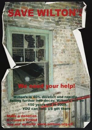 Save Wilton's Poster, 2008.
