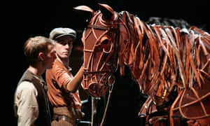 'It's just waiting for the right hands' … Toby Olié controls the star of War Horse.