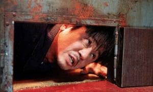 Min-sik Choi in Oldboy, 2003.