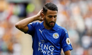 Riyad Mahrez committed his future to Leicester before the visit of his potential suitors Arsenal.