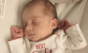 Baby Emma Wren Gibson.