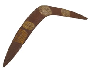 Jandamarra's boomerang.