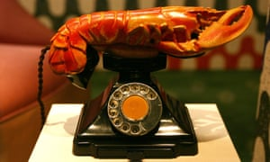 The shock of the new? Salvador Dali's Lobster Telephone.