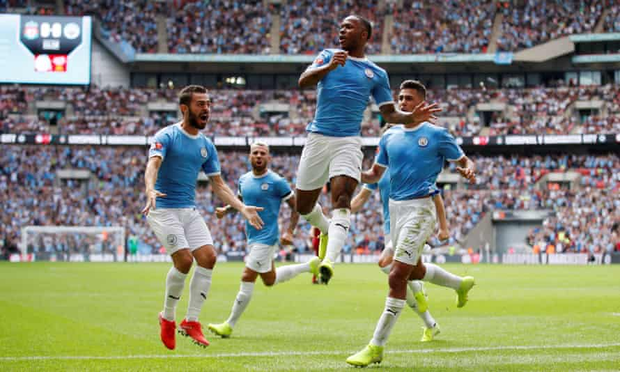 Raheem Sterling scored Manchester City's opening goal but later demonstrated the sort of indecision that so often seems to afflict him when playing for England.