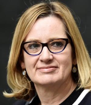 Amber Rudd, Britain's Home Secretrary