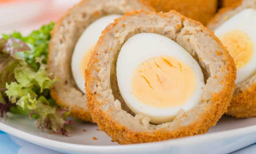 Scotch egg.
