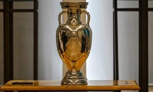 The European Football Championship trophy.