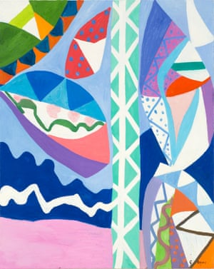 Lightning Bright Flashes by Gillian Ayres