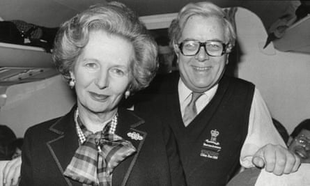 Geoffrey Howe and Margaret Thatcher