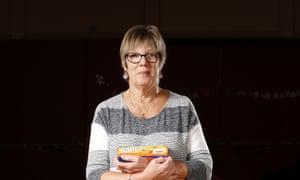 Food bank volunteer Joyce Leggate