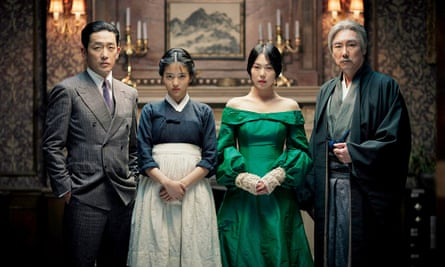 'There's explicit sex but more importantly, there's longing, affection and intimacy' ... Park Chan-wook's adaptation of the award-winning crime novel Fingersmith.