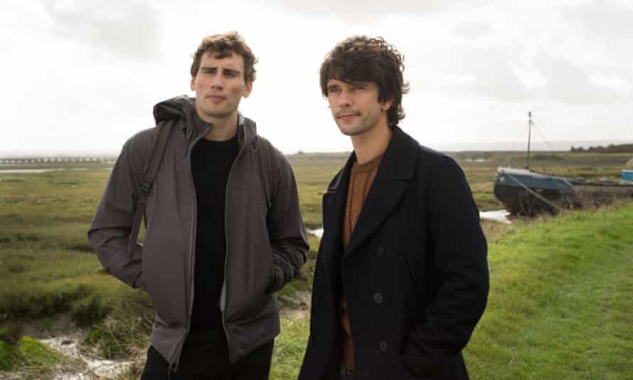 Intriguing … (Edward Holcroft) and Danny (Ben Whishaw) -in the first episode.