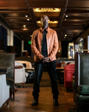 Don Cheadle at The Spare Room, Hollywood Roosevelt hotel, Los Angeles.