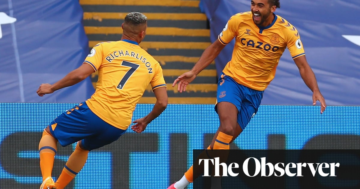 Calvert-Lewin and Richarlison take Everton top with win over Crystal Palace