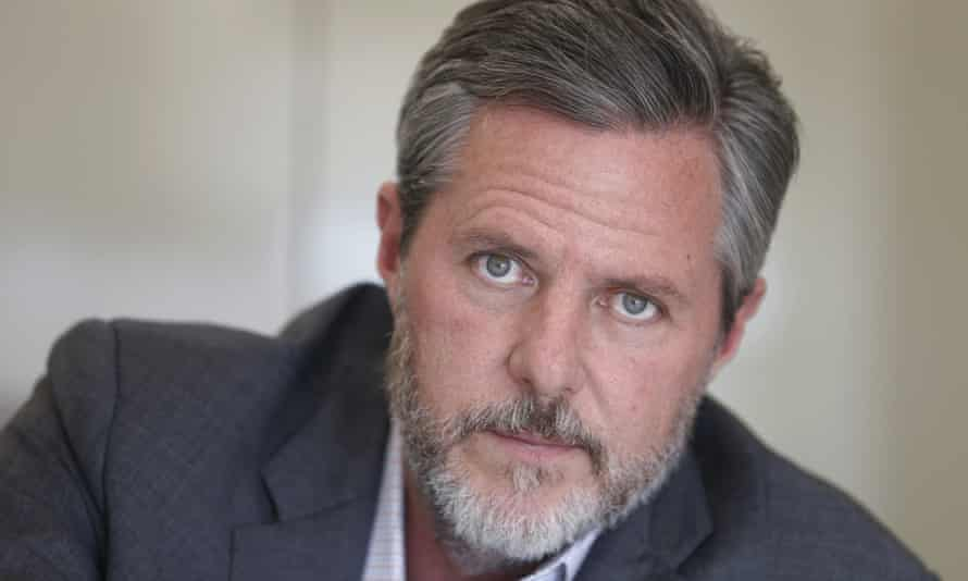 Jerry Falwell Jr. 'I don't believe he has conducted himself in a very professional manner … He is bringing a horrible name to Christianity,' said one student.
