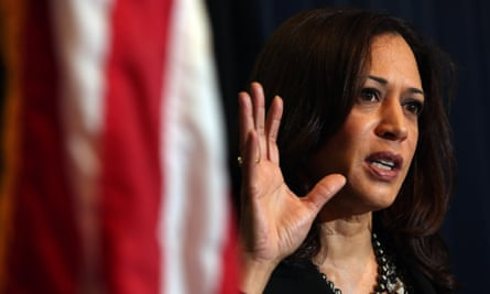 Senator Kamala Harris was among the bill's sponsors.