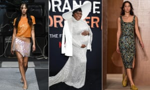 Sparkling looks at the Ashish and Alexa Chung LFW shows sandwich actor Danielle Brooks at the final season premiere of Orange Is The New Black in New York.