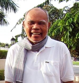 Vann Molyvann, pictured in 2009