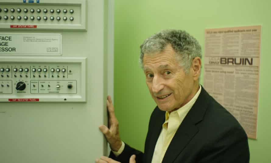 Digital love: engineer and computer scentist Leonard Kleinrock in Lo and Behold.