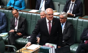 Scott Morrison presents his Closing the Gap statement to parliament, announcing teachers who work in remote areas will have their Hecs debt waived