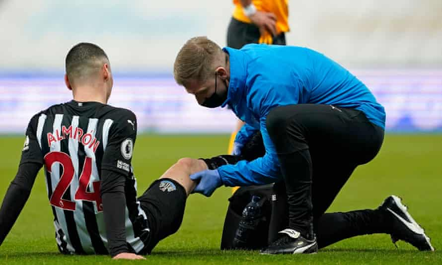 Miguel Almirón could be out for a sustained period.